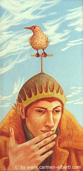Menschen mit Vogel 2 / birdpeople 2