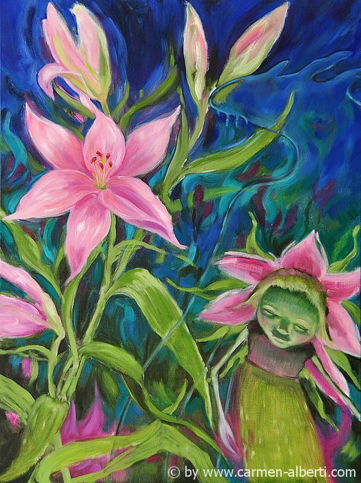 Lilienhut / lily-hat