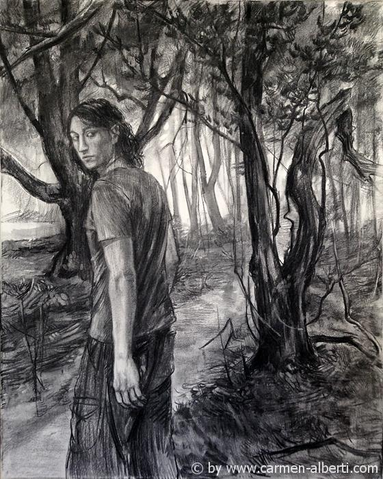 Kohlewald / charcoal-wood